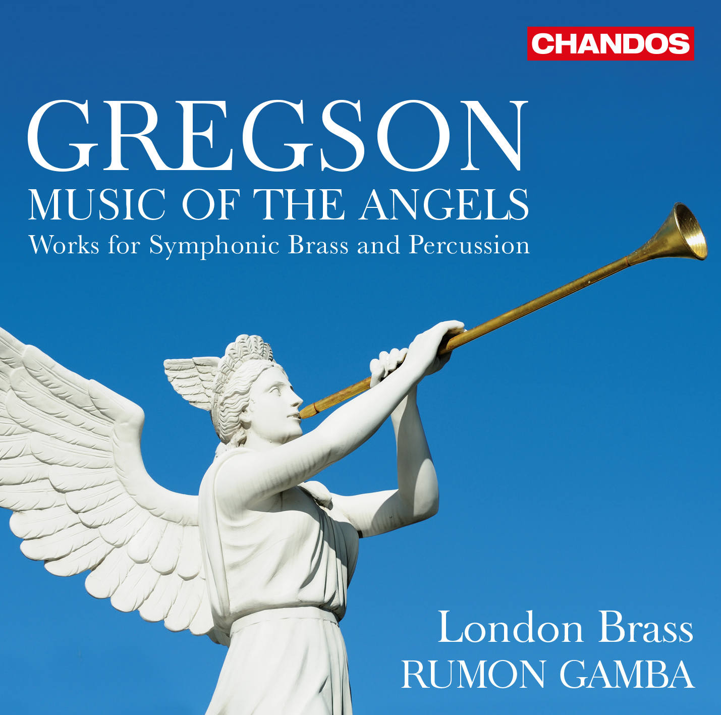 New Release! Music of the Angels released on 27 March. Recorded by London Brass and a stellar lineup of guests in June 2019, conducted by Rumon Gamba.